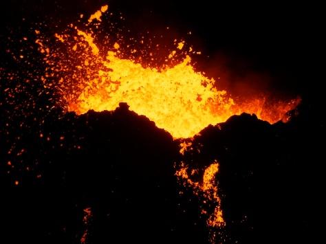 Volcan actif de la Réunion